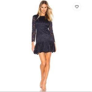 Bardot NWT Navy Lace Rubi Dress 8